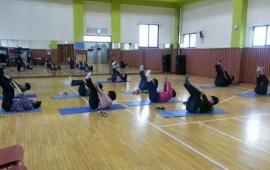 회원님들께 인기만점, 체육활동 시간입니다^^