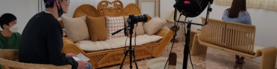 인식개선 활동 동영상 제작을 위한 스튜디오 촬영이 있었습니다.